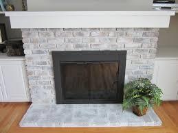 whitewash brick fireplace chalk paint whitewash brick fireplace