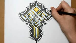 cross tattoo designs sketching a celtic weave idea youtube
