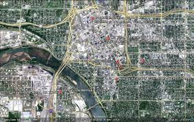 map of tulsa tulsa oklahoma then and now clockfamilyheritage