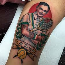 9 best tennis tattoos images on pinterest tattoo ideas anatomy
