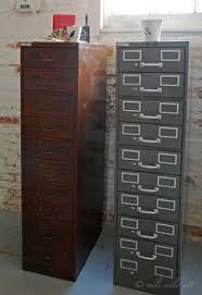 index card file cabinet vintage industrial veteran series british metal file drawer card