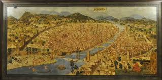 Map Of Florence Italy Florence In The 15th Century Cities And Maps Pinterest