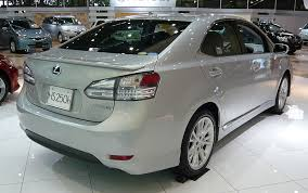 lexus and toyota same car review lexus hs250h the about cars