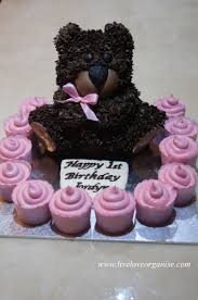 teddy bear cake live love organise