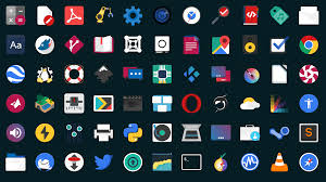 flat remix icon theme for linux omg ubuntu