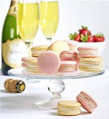 macarons bakery s bakery chagne strawberries macarons 124 1800baskets