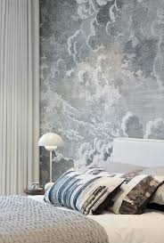 Wallpaper Designs For Walls by 15 Soothing Bedrooms That Take Inspiration From The Clouds Cloud
