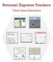 Microsoft Excel Expense Tracker Template Excel Personal Expense Tracker 7 Templates For Tracking