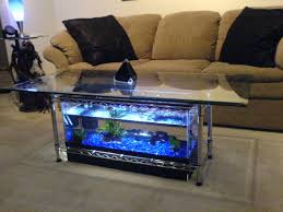 Coffee Table Design Plans Aquarium Coffee Table 7 Steps With Pictures