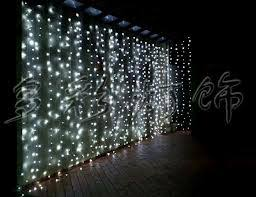 Curtain Christmas Lights Indoors Examples Of Decor Using Christmas String Lights Indoor Banquet
