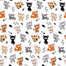 cute tile background halloween depositphotos 23299734 cute cat themed seamless background jpg