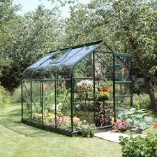 Mythos Silverline Greenhouse Halls Supreme 6ft Greenhouse Range