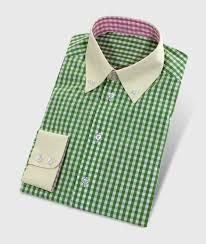 design hemd grün kariertes hemd in buntem design maßhemden hemdwerk