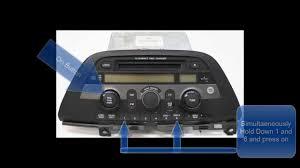 how to retrieve radio code for honda accord honda odyssey radio code reset unlock no call to dealer