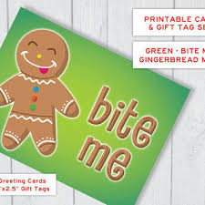 printable gingerbread man gift tags best funny gift tags products on wanelo