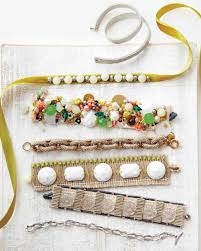 How To Make Bohemian Jewelry - handmade fabric jewelry martha stewart