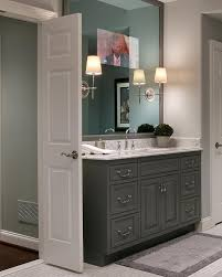 bathroom vanity mirror tv transitional bathroom