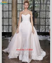 cheap top fashion strapless wedding dresses lace backless with