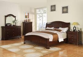 cameron bedroom set cherry finish cm750qb decor south