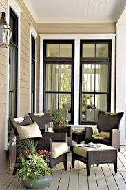 love the exterior color scheme especially the black trim paired