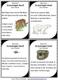 science scavenger hunts for the classroom