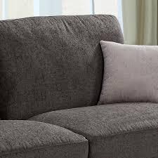 amington chenille fabric dark grey mole sofa collection