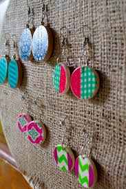 sowdering about washi tape earrings a tutorial