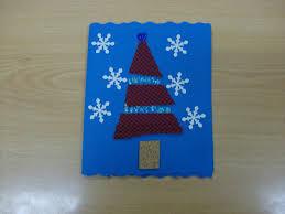 reuse crafts cloth cork christmas card craft