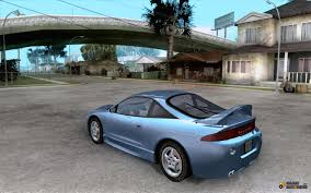 mitsubishi eclipse tuned mitsubishi eclipse gs t for gta san andreas