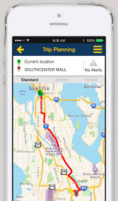 Map My Walk Route Planner by Iphone And Android App Trip Planner King County Metro Transit