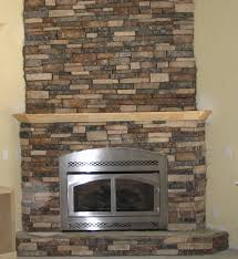 outstanding painted stone fire place pics design inspiration