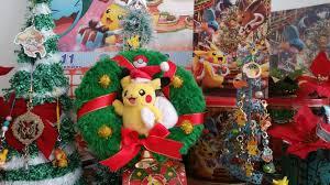 meri pokemon christmas small pokemon tree ideas pkmncollectors