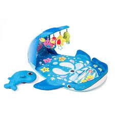 amazon com infantino wonder whale kicks and giggles gym early