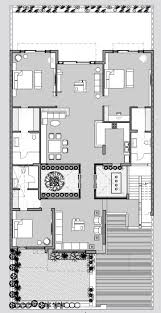 courtyard house plans best f l o r p a n s images on pinterest by