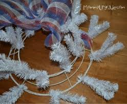 how to make a mesh wreath deco mesh wreath for the 4th of july