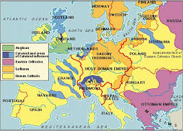 Holy Roman Empire Map Religion Map Of Europe 10 Revealing Maps Of Religion In Europe