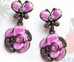 sweet earrings fashion candy color lovely qq bead earrings sweet stud earring