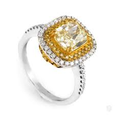 fancy yellow diamond engagement rings jewelry natalie k 18k multi gold light fancy yellow diamond