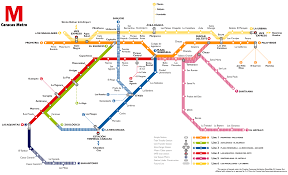 Houston Metro Map by Caracas Map