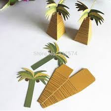 creative diy palm tree design paper storage box coconut tree