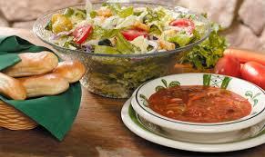 hot 6 99 unlimited soup salad breadsticks at olive garden