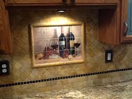 kitchen tile murals tile backsplashes kitchen tiles of wine backsplash ideas bread and wine tile mural