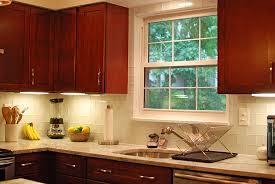 kitchen window backsplash contemporary small kitchen design fairfax virginia fadb fa