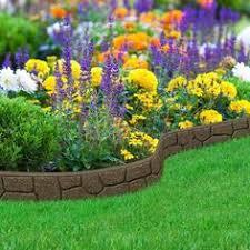edging for flower beds wood garden border edging ideas natural