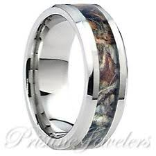 camo mens wedding bands camo rings ebay