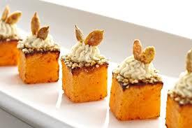 canapé pumpkin season pumpkin menu chianti