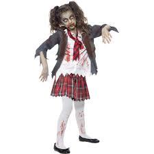 school girl costumes smiffys school girl skirt horror child