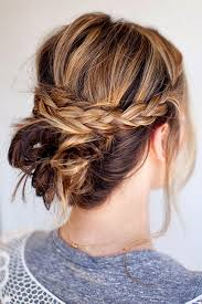 step by step braid short hair cool updo hairstyles for women with short hair fashionisers