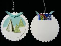 ornament gift card holder chris
