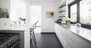 Remodel Galley Kitchen Before After White Galley Kitchen Remodel Drinkware Microwaves Surripui Net